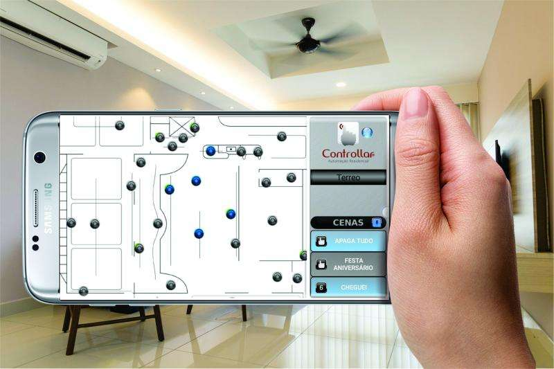 Aplicativo de automação residencial