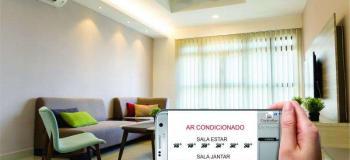 Automação de ar condicionado residencial